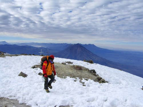 La Azufrera or North-East Route (Nevado Chachani)