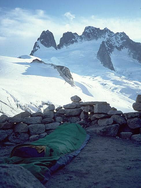 Bugaboo-Snowpatch Col Bivy