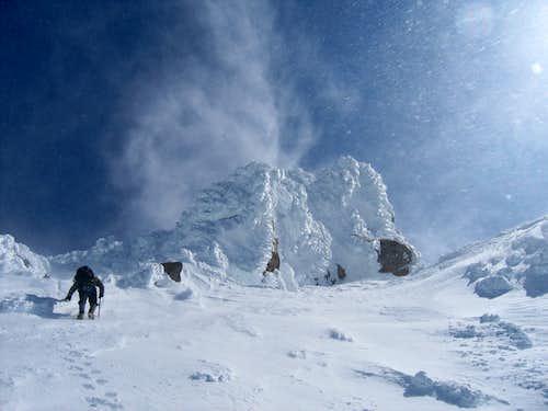 Ascending Sargent's Ridge