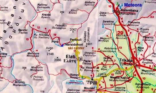Map of the area near by...