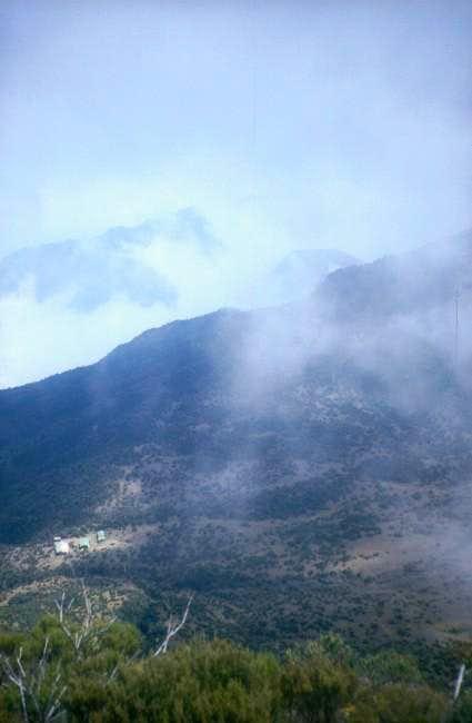 The Saddle and Mount Meru's...