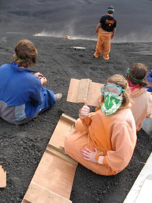 Cerro Negro Volcano Boarding