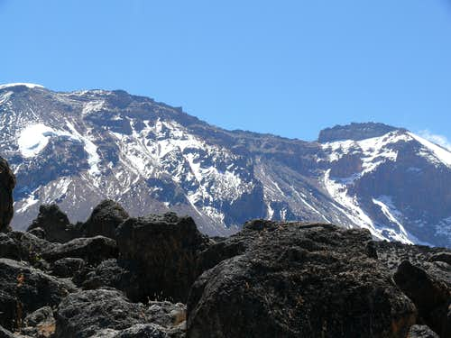 Kilimanjaro via The Western Breach and the Crater