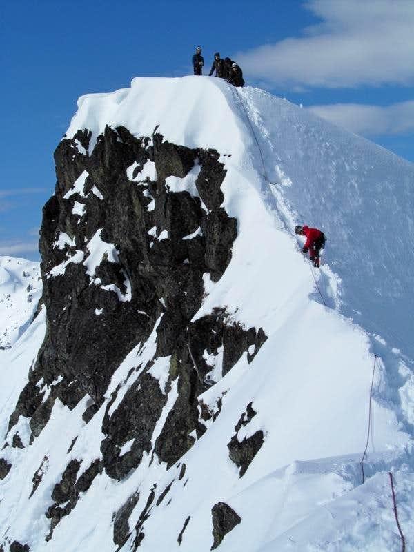 Kendall Peak via Fixed Line
