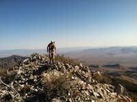 Summiting Virgin Peak