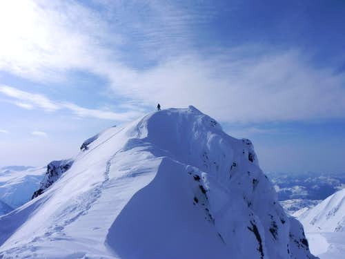 Summit of Garibaldi