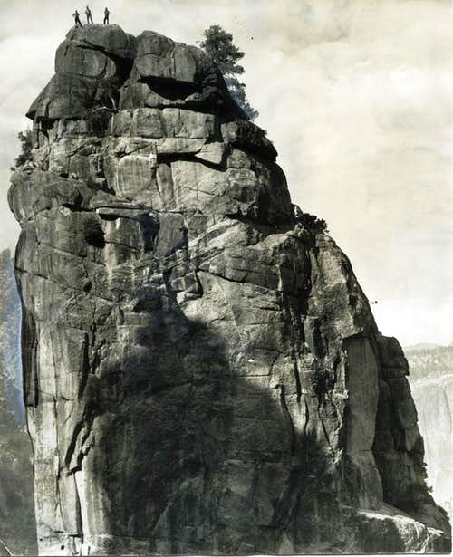 Lower Cathedral Spire First Ascent 1934