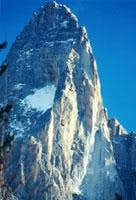 The Drus West face close up