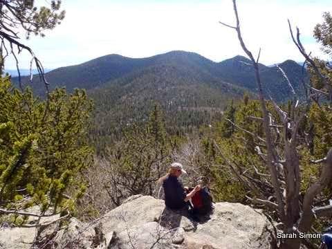 Summit views toward Stoll Mountain