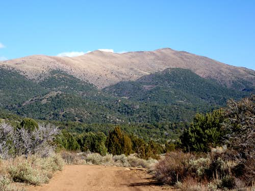 Mt. Como seen from the northwest