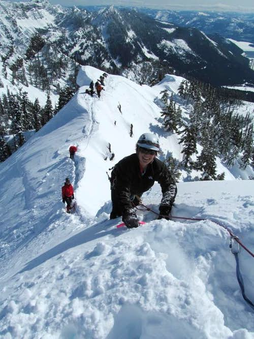 Fixed line to Kendall summit