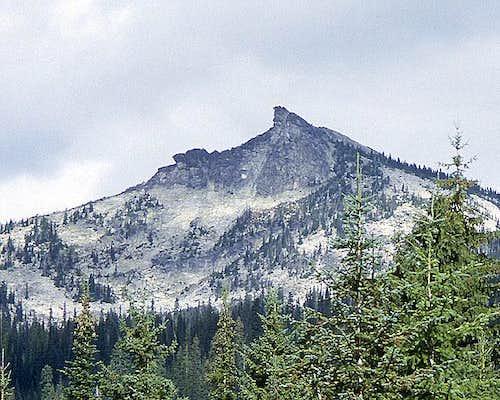 Harrison Peak from the SSE