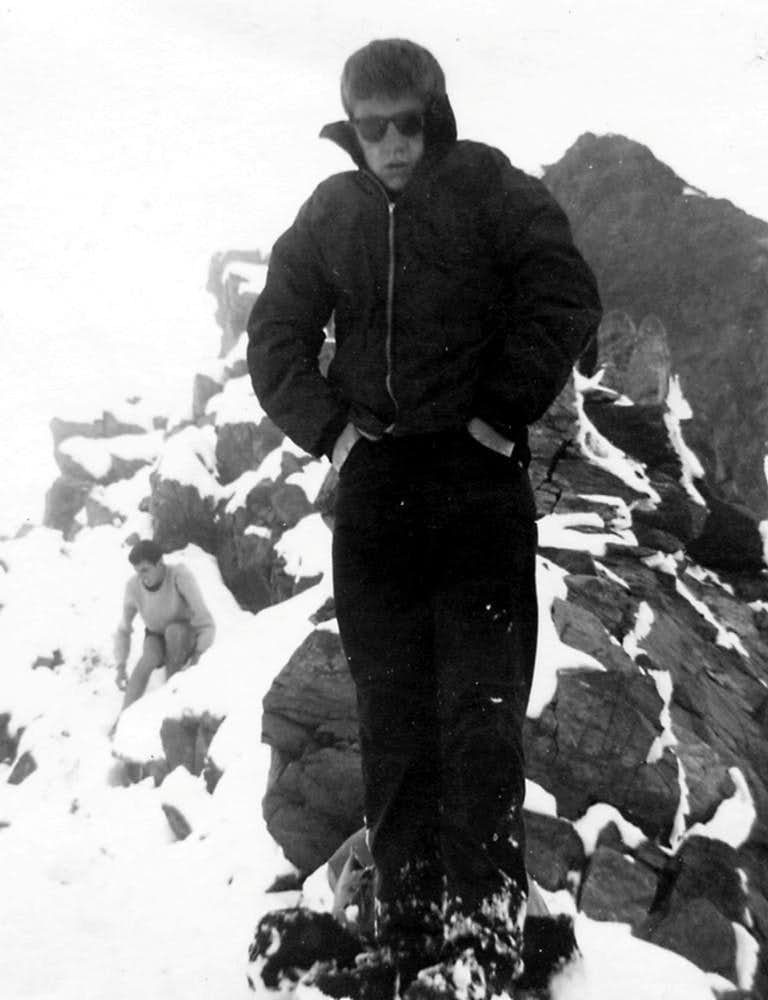 Punta Rossa of Emilius Central Summit by North Face 1965