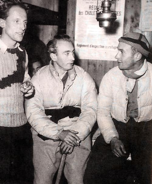 A very young Lionel with René Beckert and Louis Lachenal