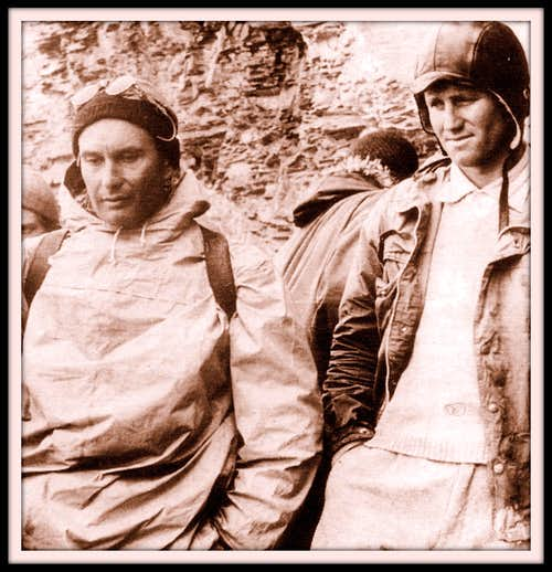 During the Eiger Rescue in 1957
