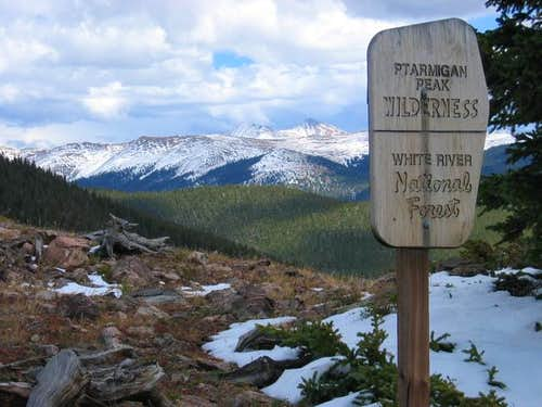 Ptarmigan Peak Wilderness...