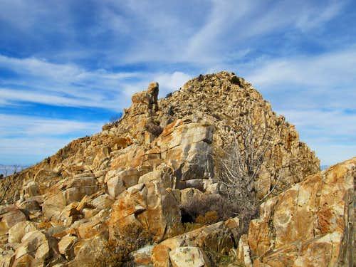 Boulder below Castle Rock