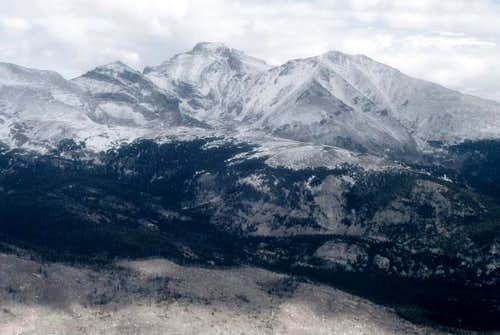 Looking North from Copeland Mountain