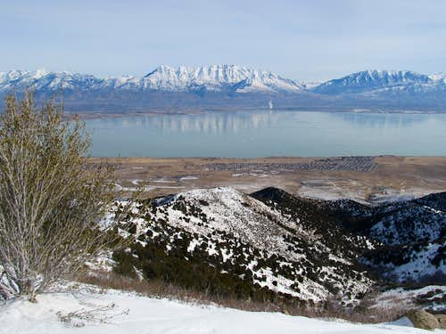 Timp on the other side of Utah Lake
