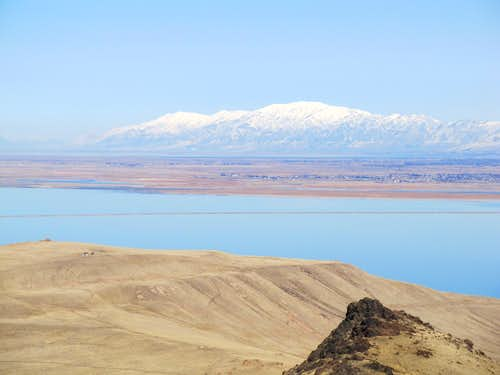 Wellsvilles from Antelope Island