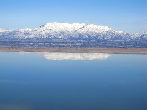Mt. Odgen from Antelope Island