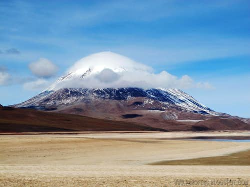 Licancabur all dressed up
