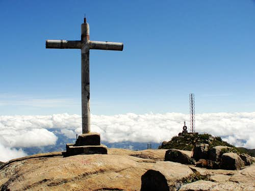 Summit of Bandeira Peak