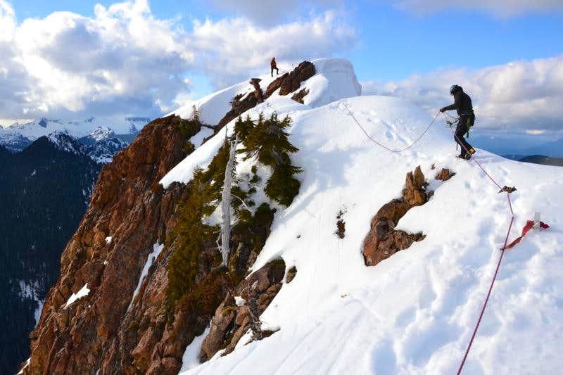 Devils Thumb Summit Ridge