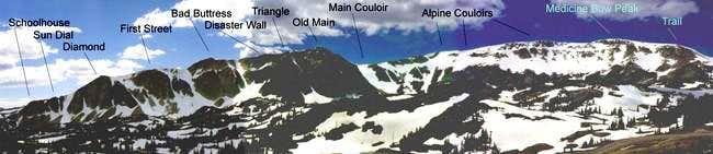 Snowy Range in June from...