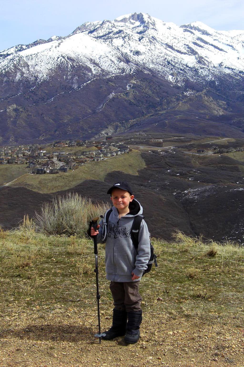 Me and Lone Peak.