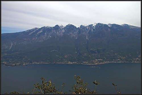 Monte Baldo from Monte Castello