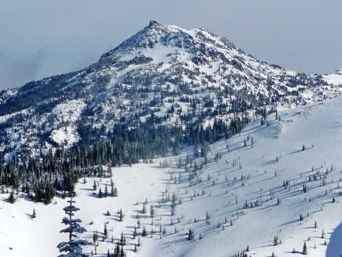 Mount Angeles during Winter