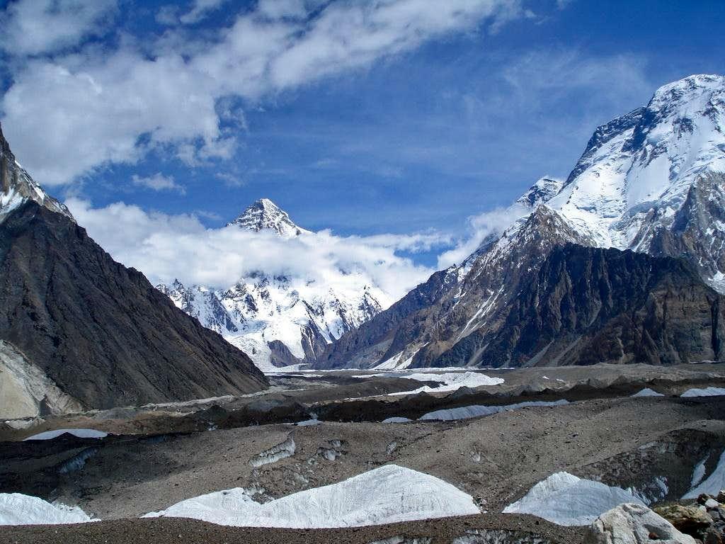 K-2 and Broad Peak, Karakoram, Pakistan