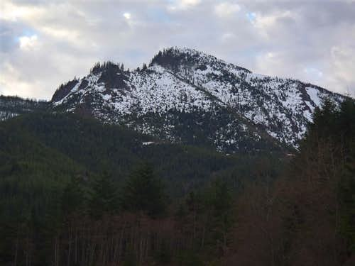 NW Ridge Of Storm King Mountain