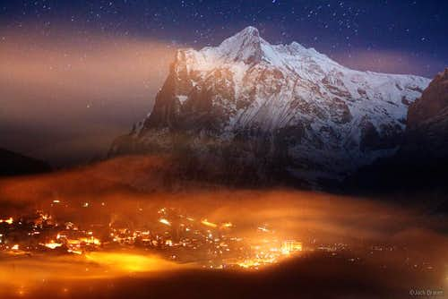 Grindelwald and Wetterhorn