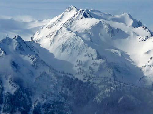 Mount Fairchild's North Face