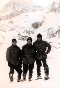 Gilberti Shelter at Monte Canino with 76a Comp. CIVIDALE BTG Genuary 25th, 1968