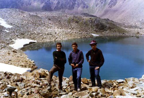 Lago Gelato or Frozen Loch <i>(2957m)</i> 1965