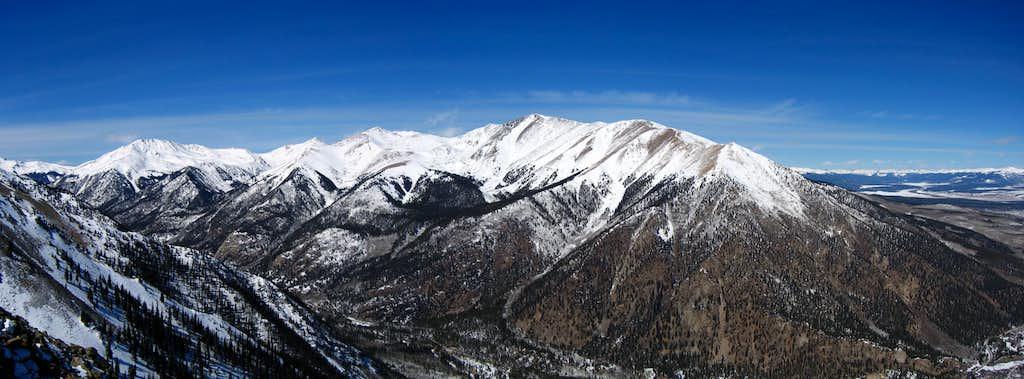 Mt. Elbert and Bull Hill