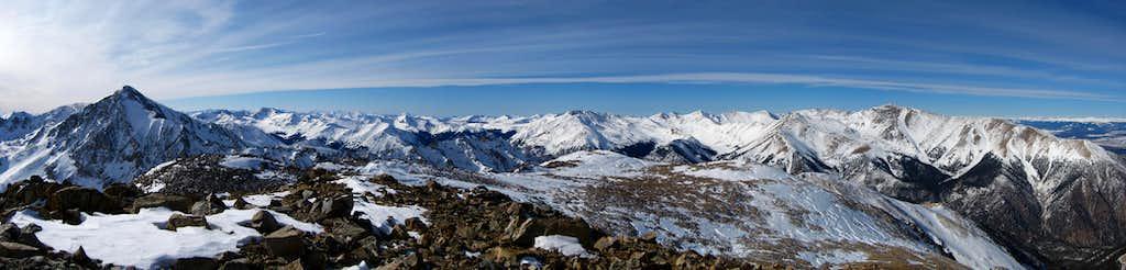 Rinker Peak Summit Panorama