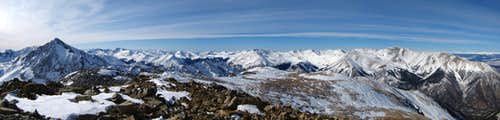Rinker Peak Summit Panorama