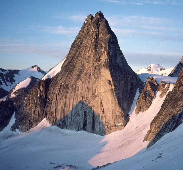 Snowpatch Spire at Dawn
