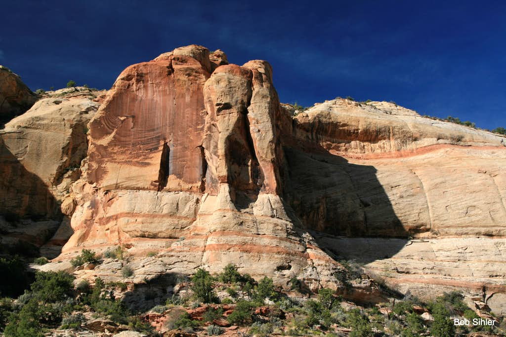 Cliffs of Calf Creek Canyon