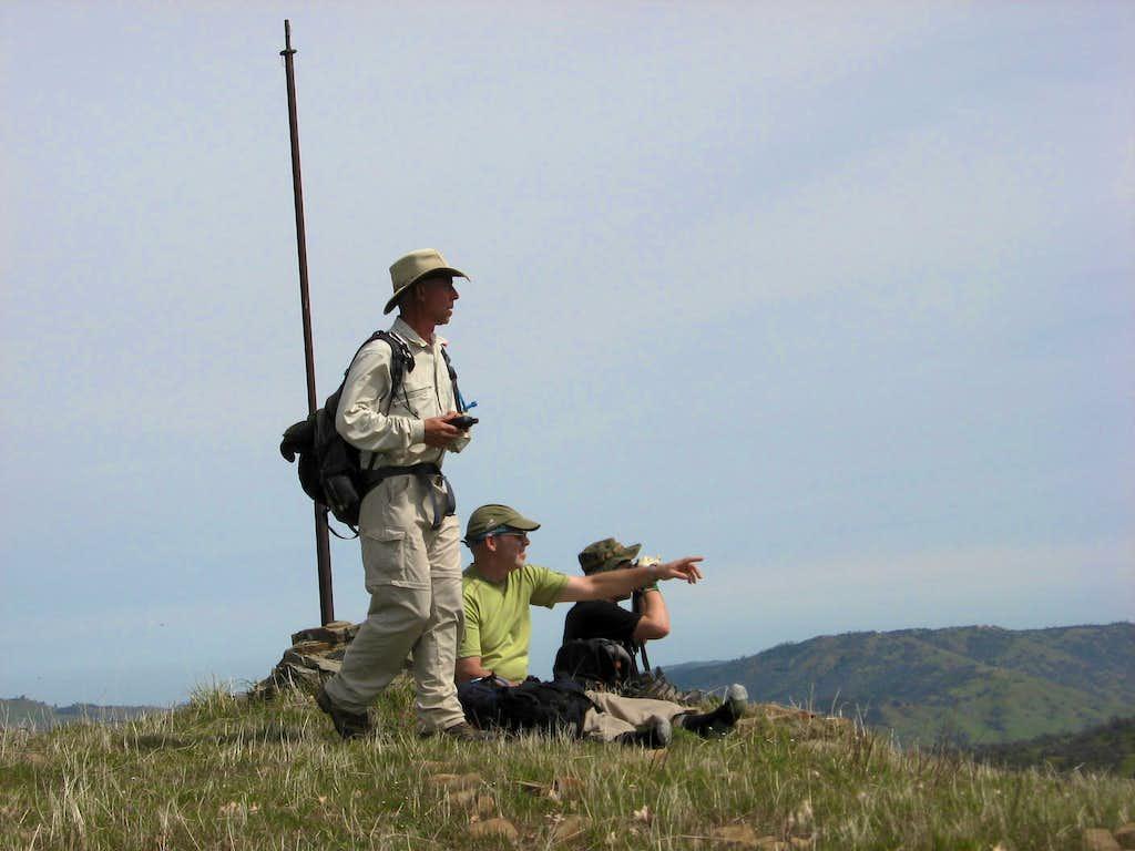 Mount Lewis summit