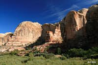 Cliffs of Calf Creek Canyon