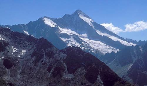 Roetspitze seen from NNW from...
