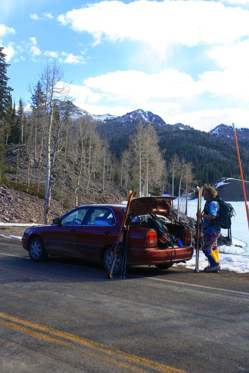 Lake Peak Trailhead