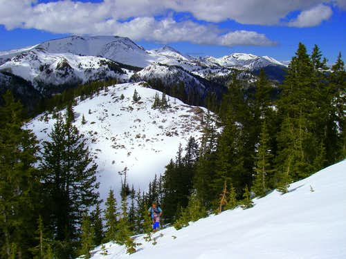 Skinning City Creek Peak