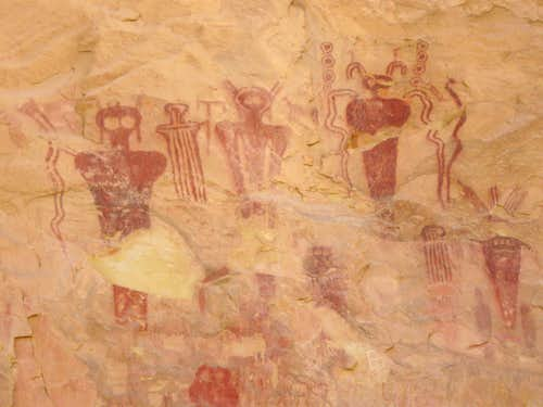 Thompson Canyon Pictographs