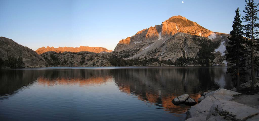 Peeler Lake Alpenglow